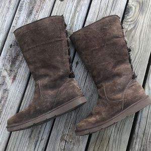 Ugg Australia Roseberry 5734 dark  brown boots 10